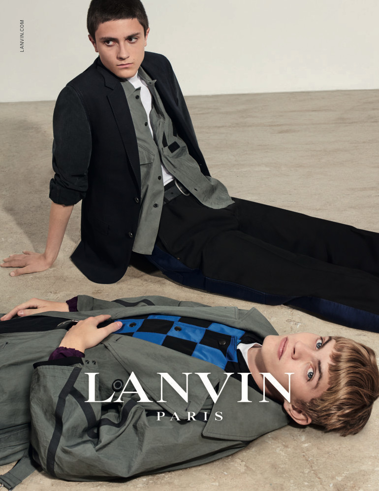 Jose Luis For LANVIN CAMPAIGN SS18
