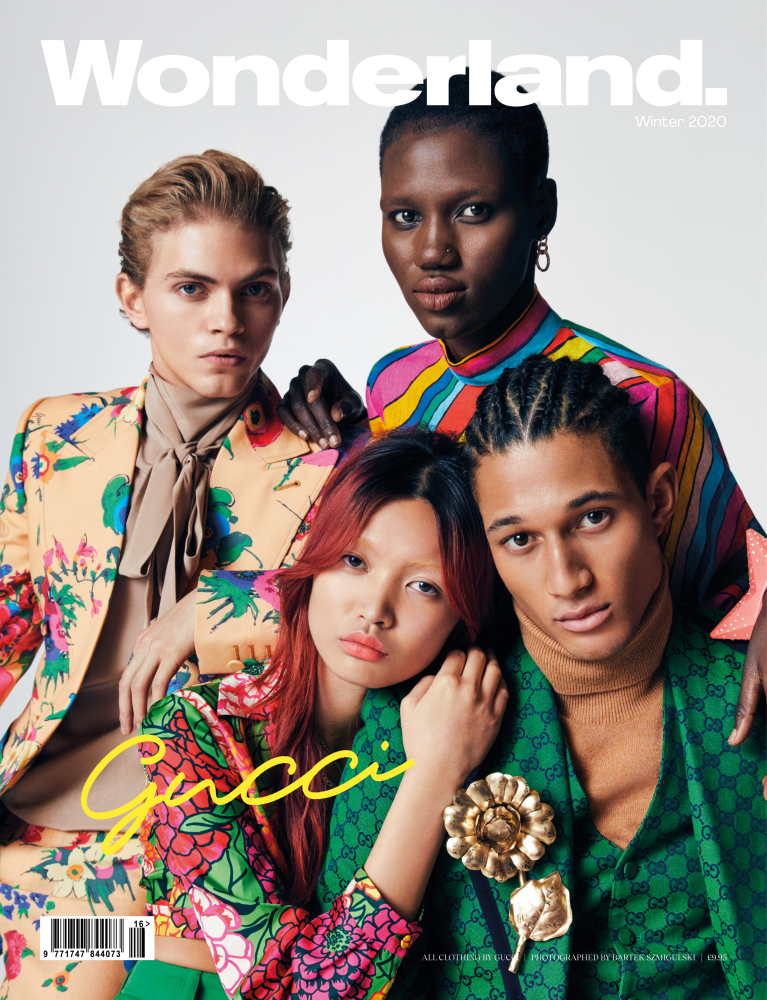 JOSE LUIS COVERS WONDERLAND MAGAZINE