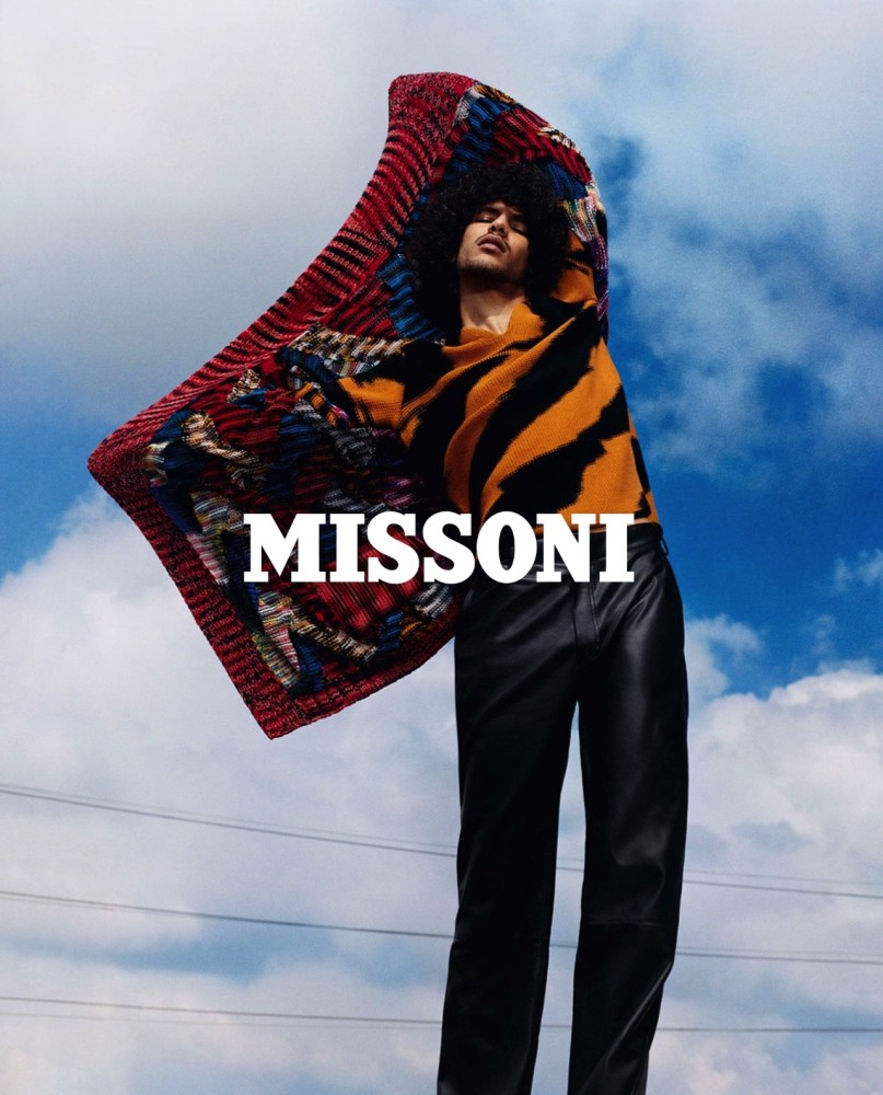 YASSINE RAHAL FOR MISSONI FW18 CAMPAIGN