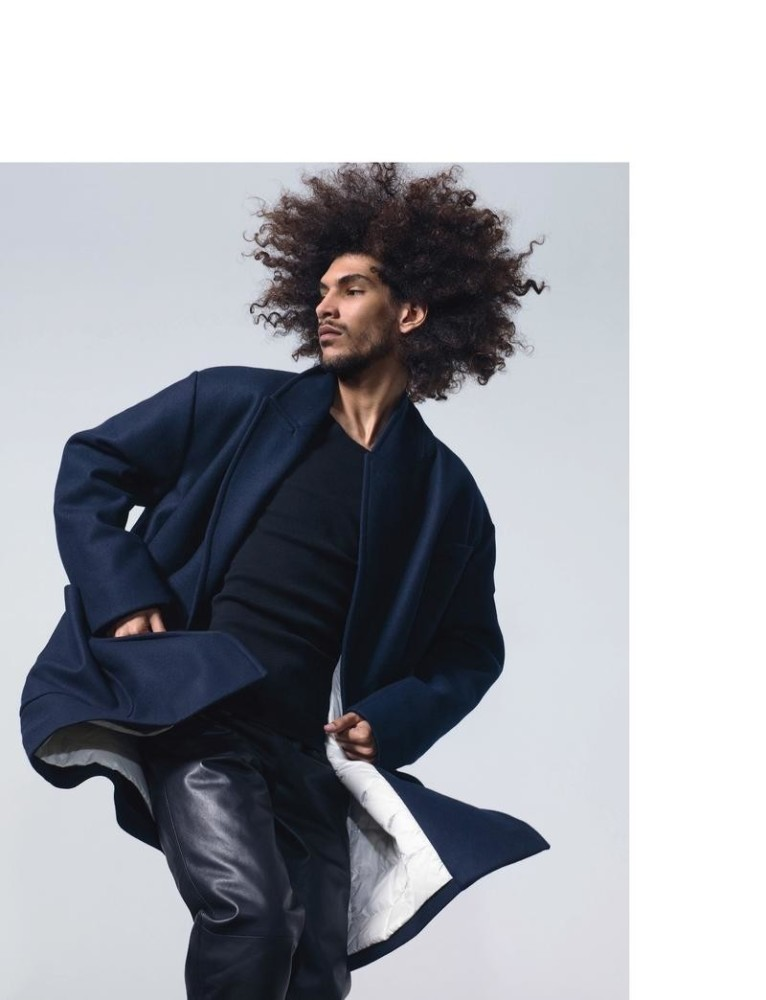 Yassine For Numero Homme By JB Mondino