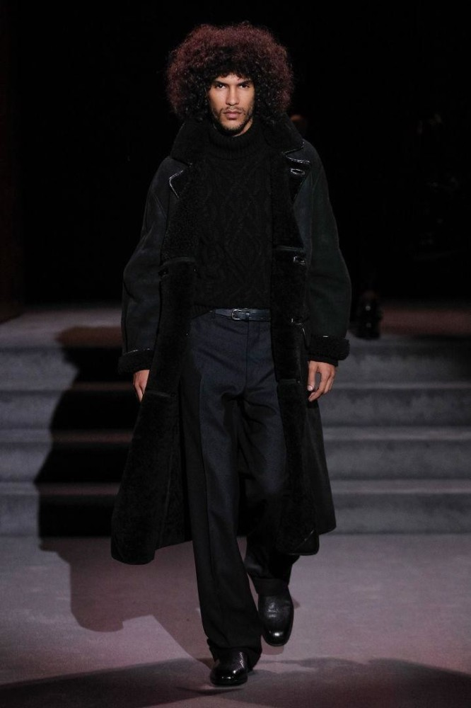 Yassine For Tom Ford F/W 16 Show