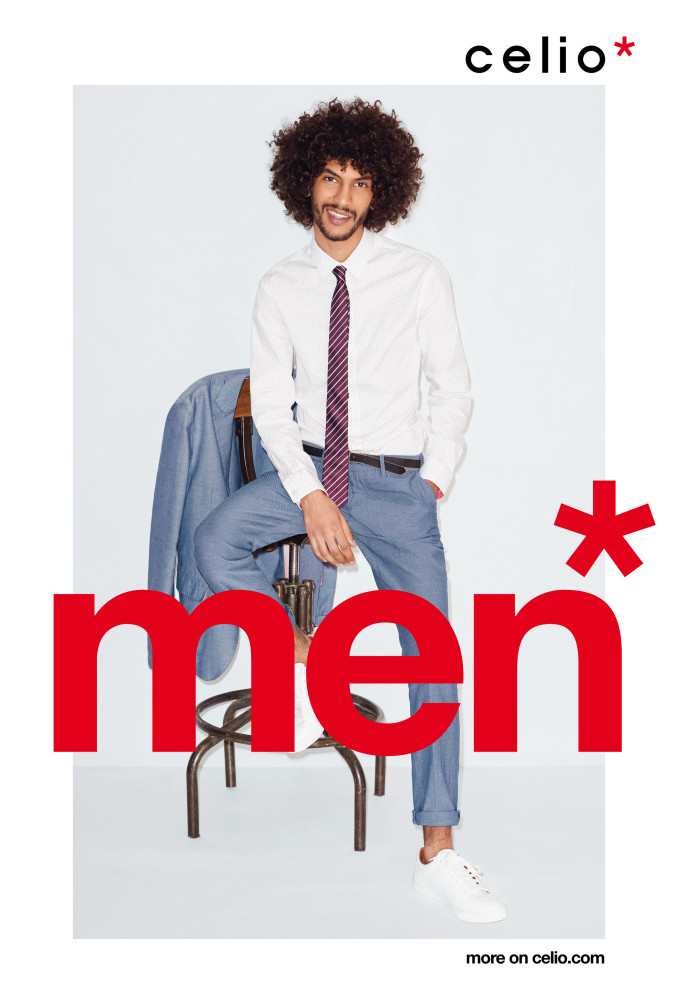 Yassine For Celio SS17 Campaign