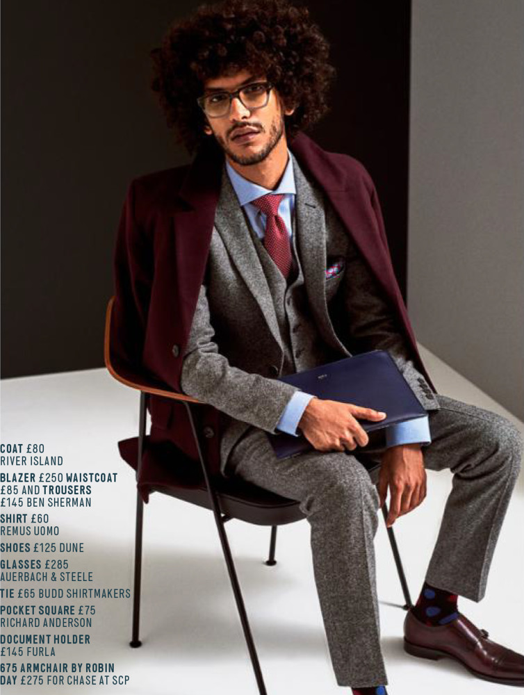 Yassine For Men's Health UK