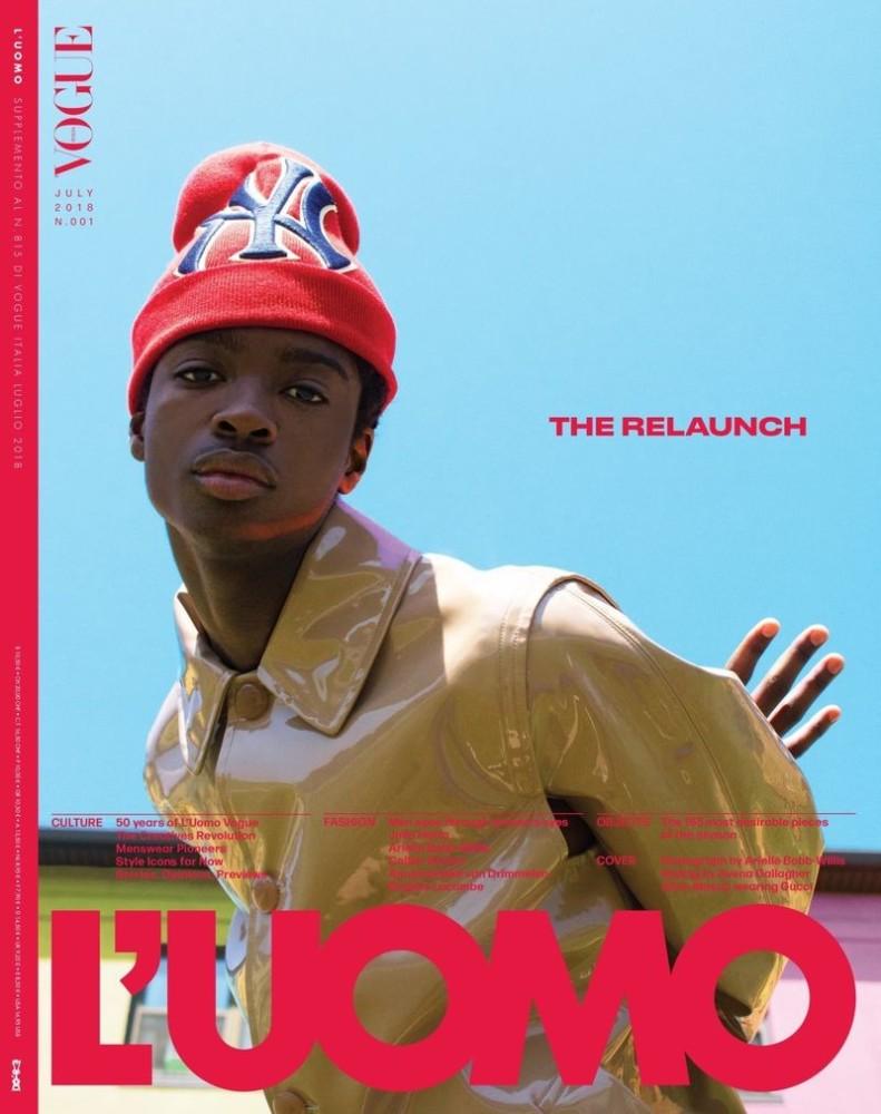 ALTON MASON for L'UOMO Cover
