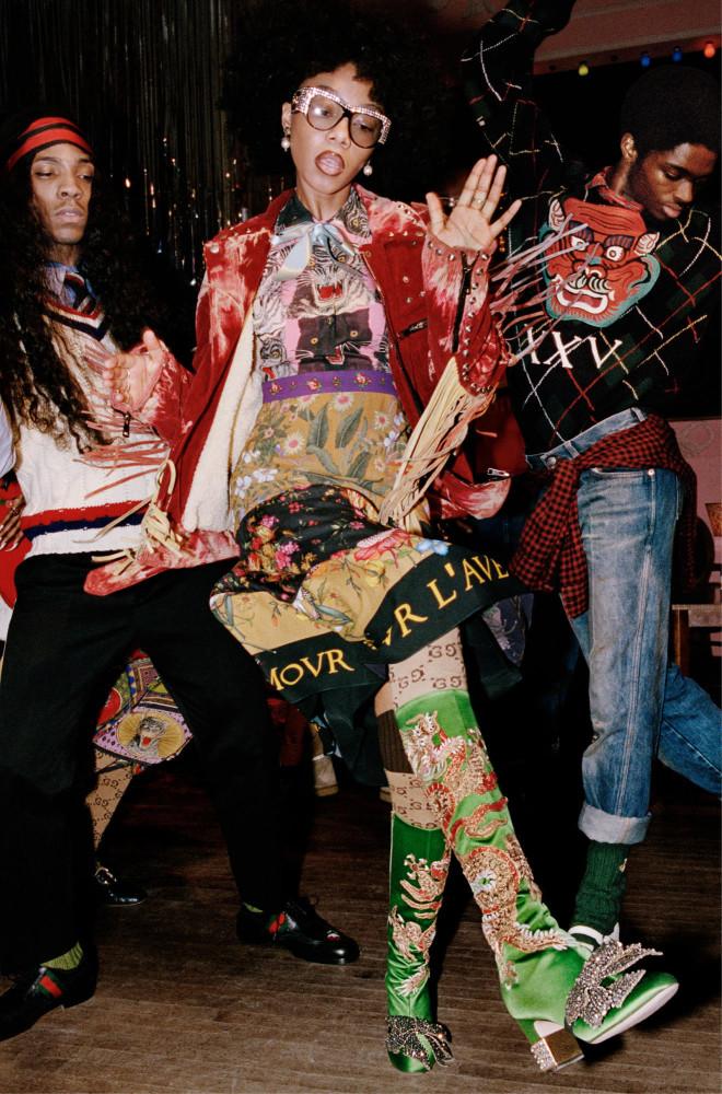 ALTON For Gucci PreFall17 Campaign
