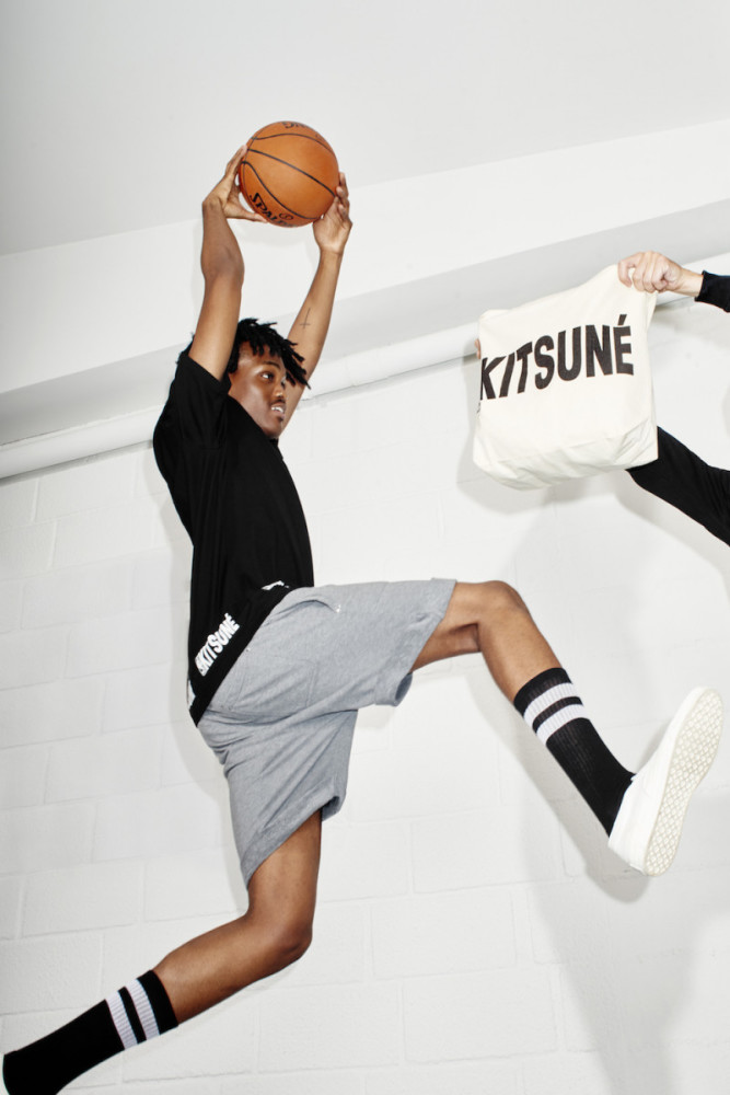 Yvens For KITSUNE X NBA Campaign