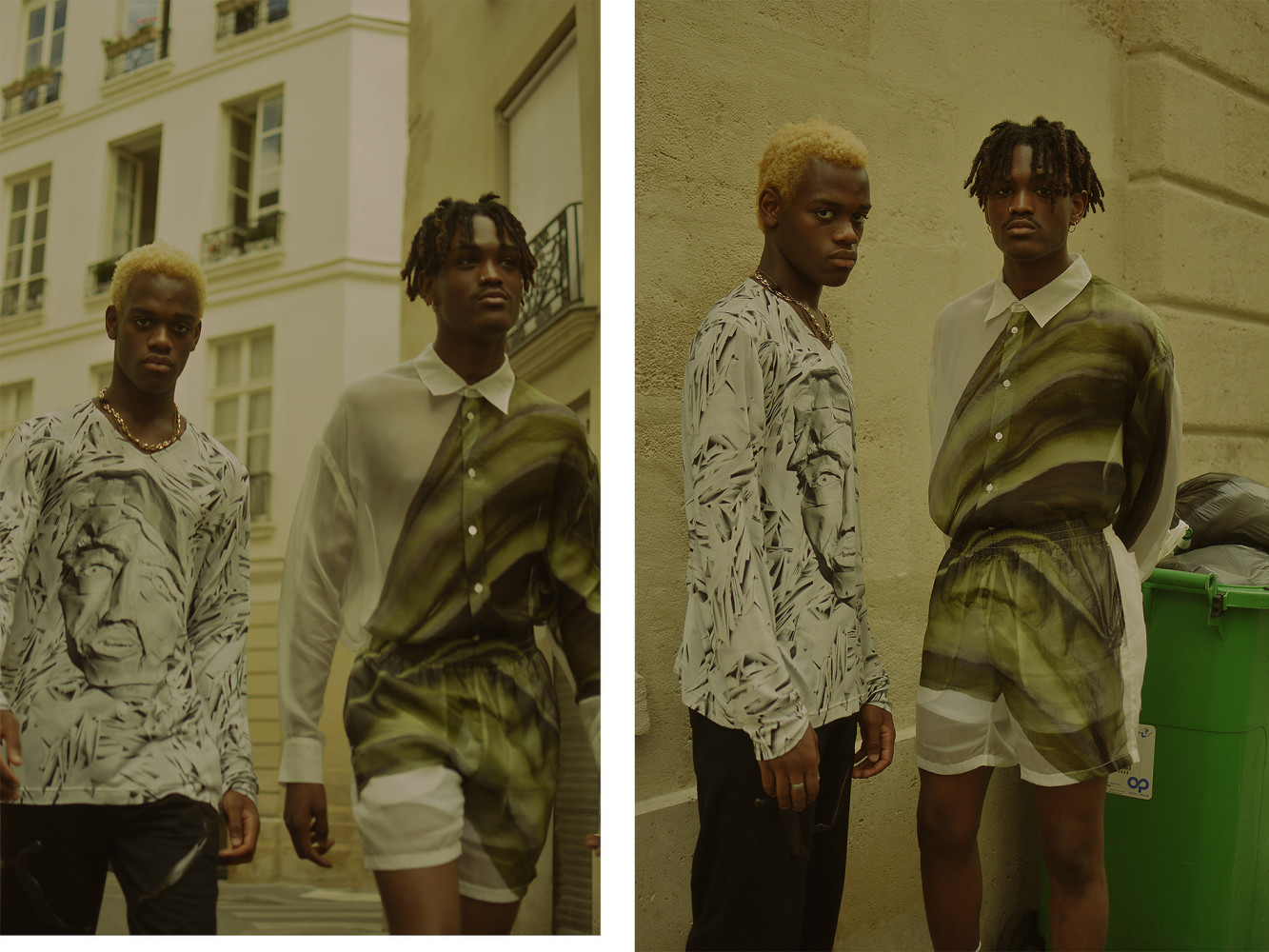 RODRIGUE, YVENS & KEVIN FOR FWORD MAGAZINE
