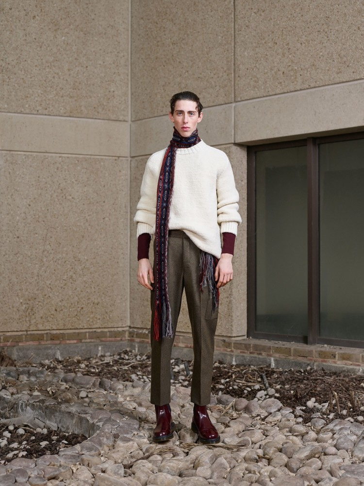 Rodrigue & Josef For PRINGLE OF SCOTLAND FW18