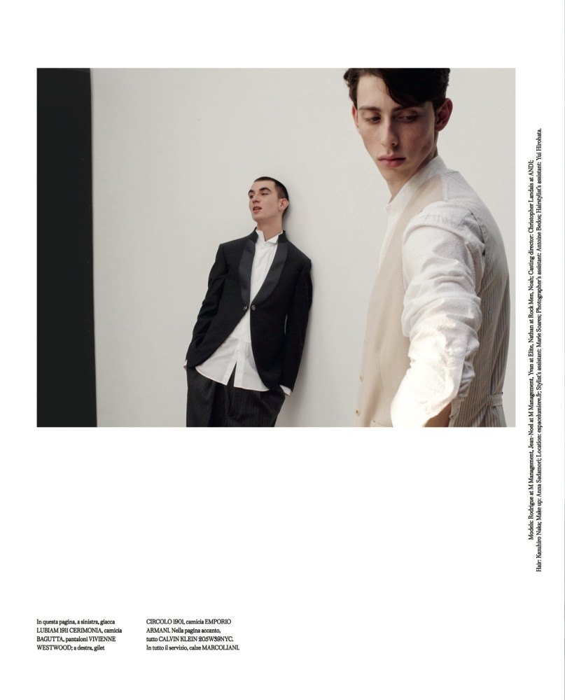 RODRIGUE & JEAN-NOEL FOR ICON Magazine