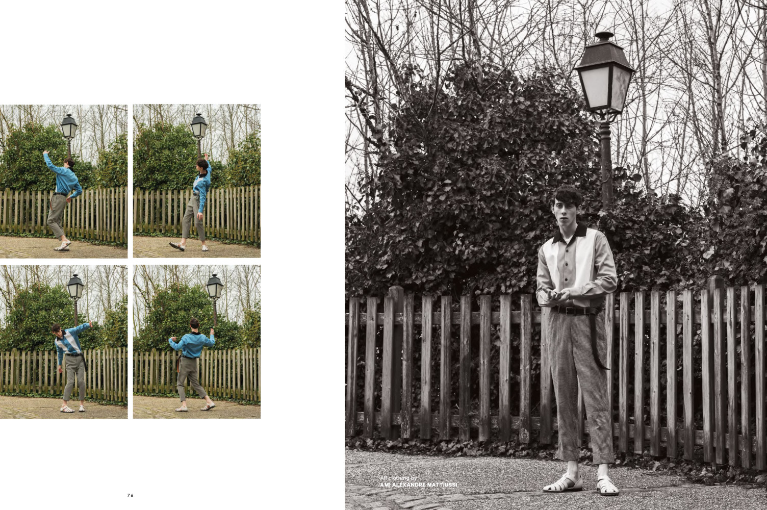 RODRIGUE FOR ESSENTIAL HOMME MAGAZINE