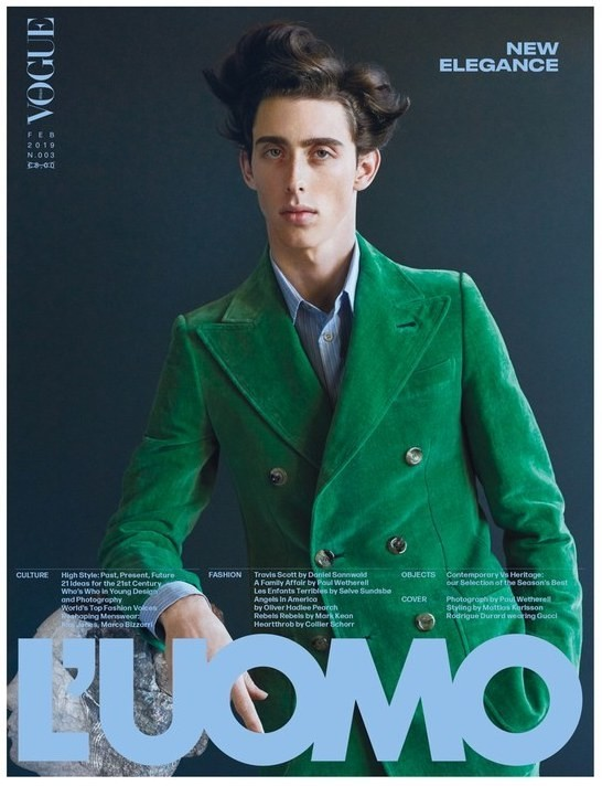 RODRIGUE COVERS L'UOMO VOGUE