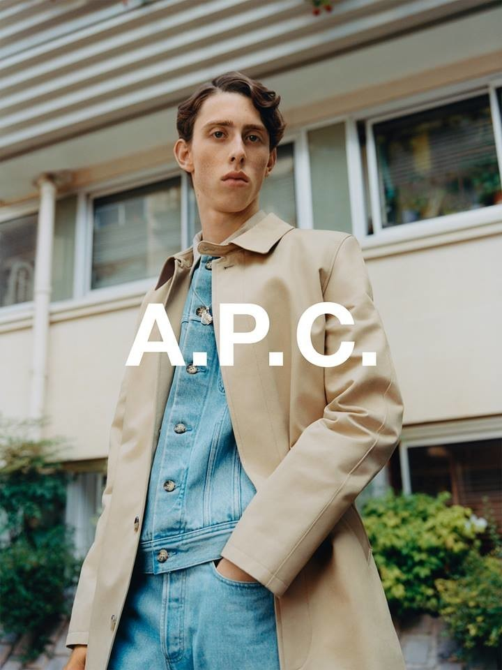 RODRIGUE For A.P.C Resort SS18 Campaign