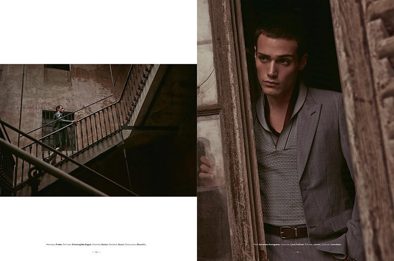 Richard For L'Officiel Hommes Suisse