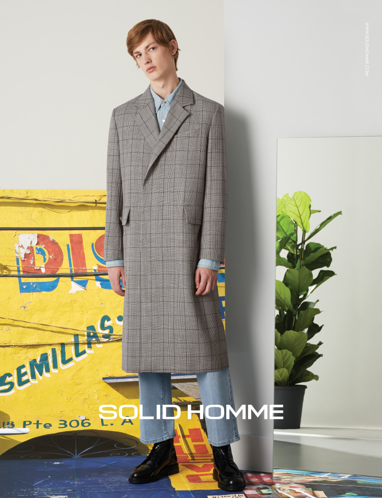 Honza For Solid Homme S/S 18 Campaign