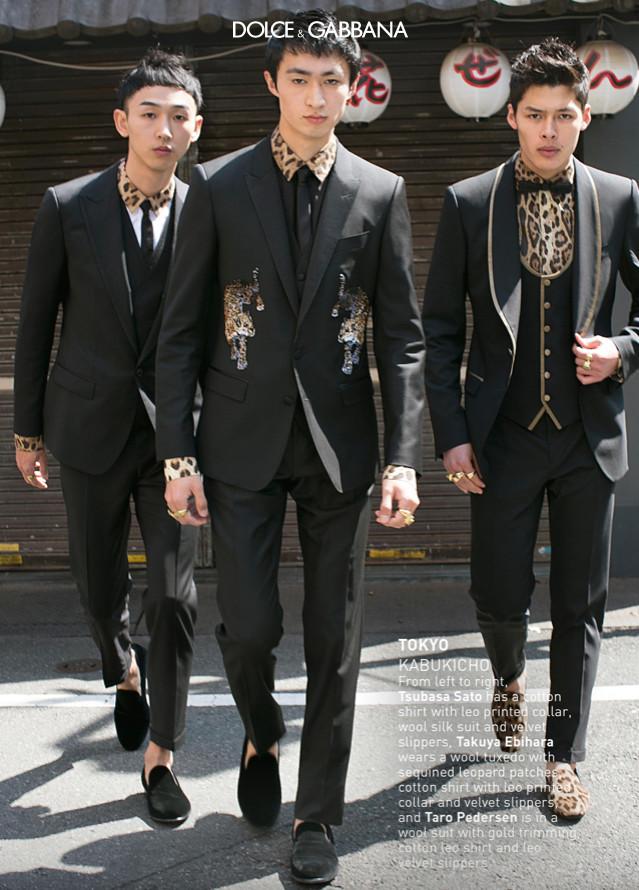Chun & Tsubasa For Dolce & Gabbana
