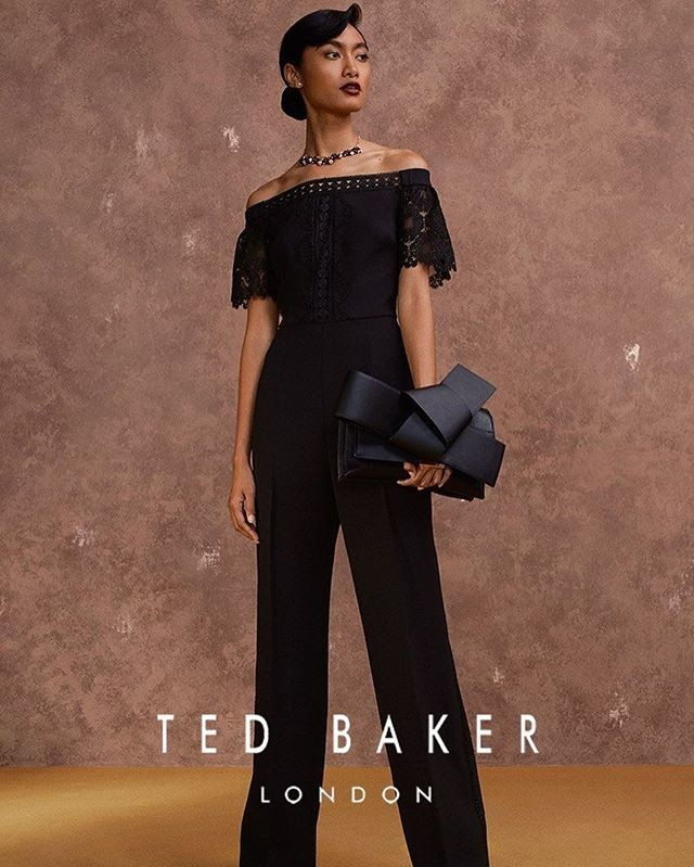 ATIKAH KARIM FOR TED BAKER CAMPAIGN
