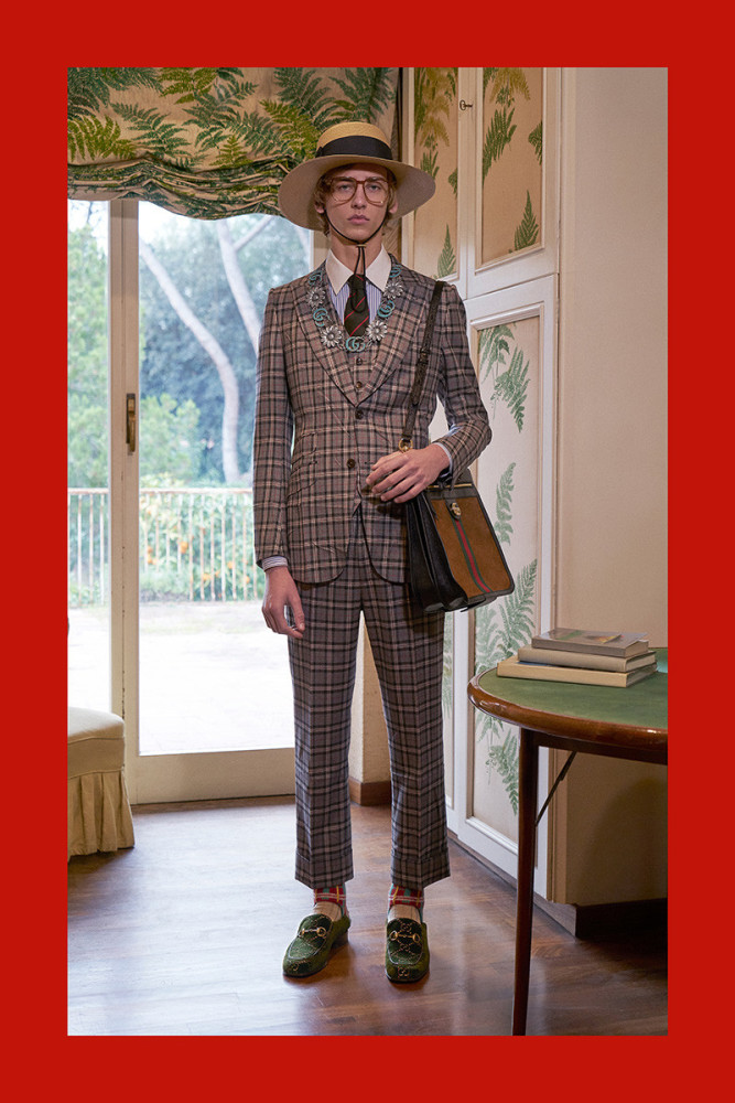 LEVI & OLEG FOR GUCCI PRE-FALL 18 LOOKBOOK
