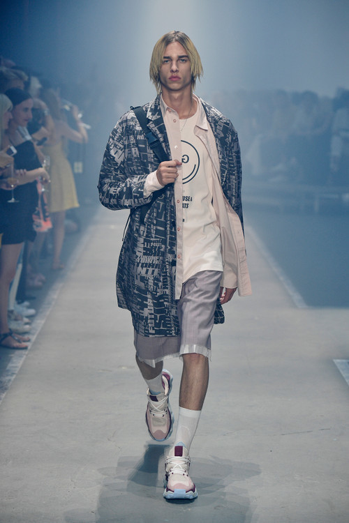 LEVI FOR HUGO SS19 SHOW IN BERLIN