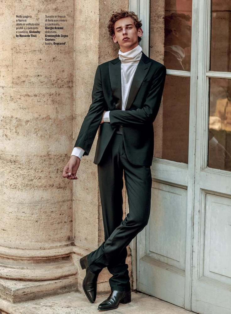 LEVI FOR STYLE MAGAZINE ITALIA