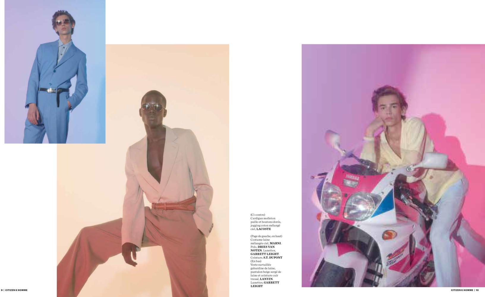 Levi For Citizen K Magazine