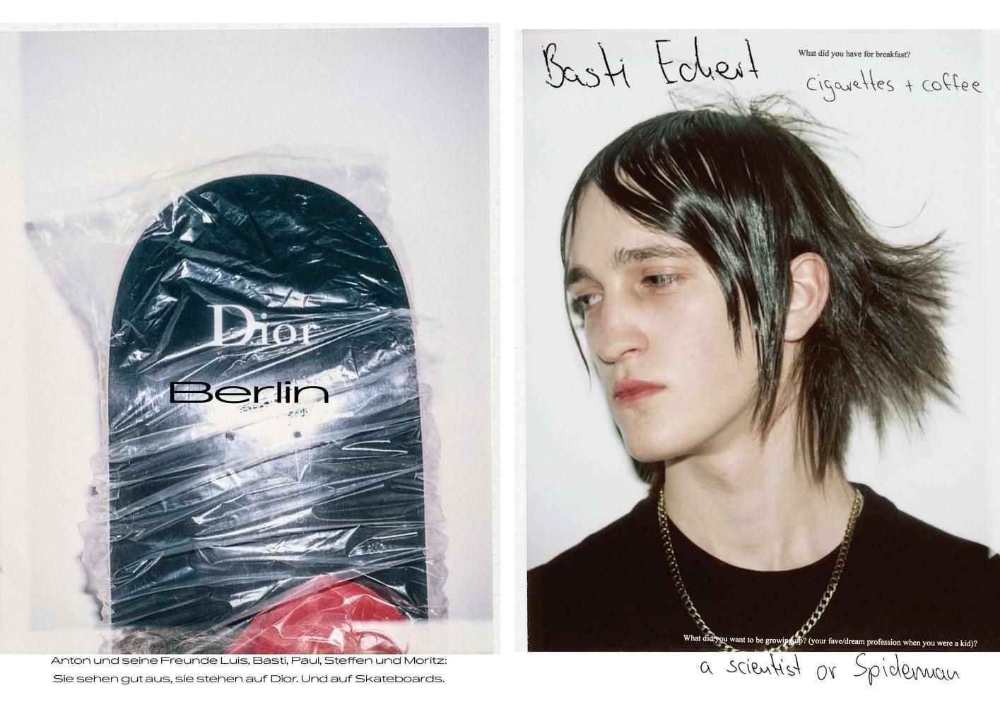 BASTI For INTERVIEW Magazine