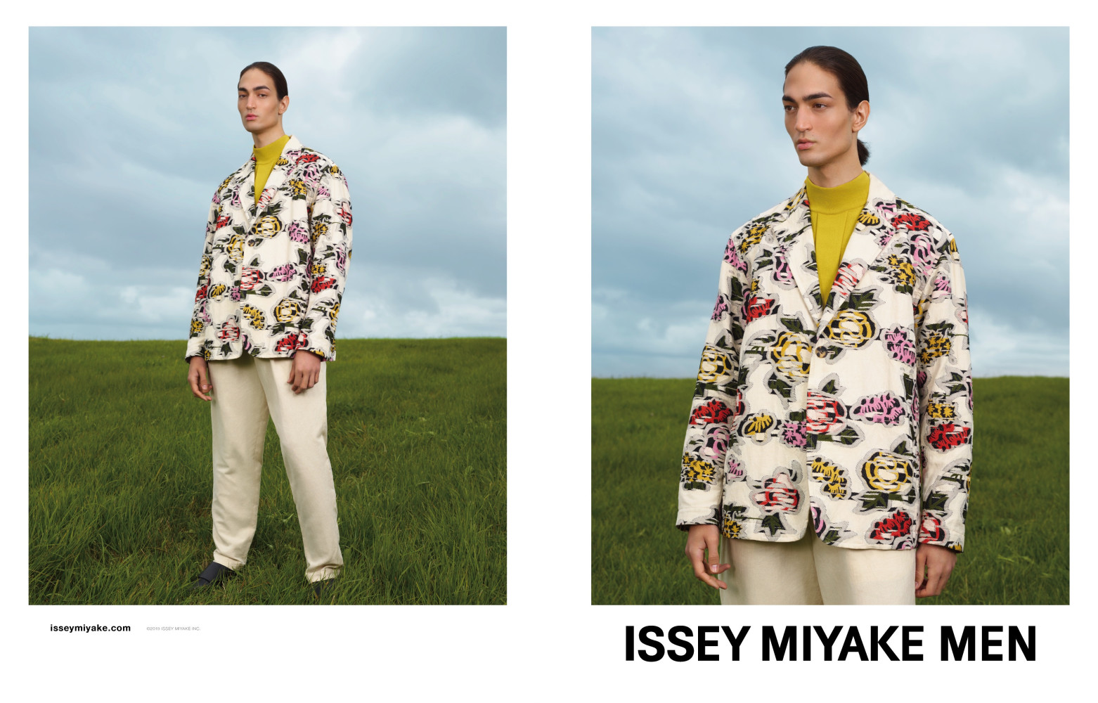 THIMOUR FOR ISSEY MIYAKE MEN