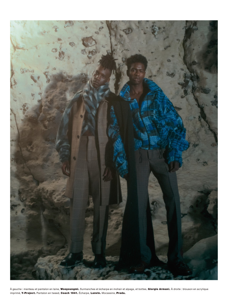 Thierno For NUMERO Homme