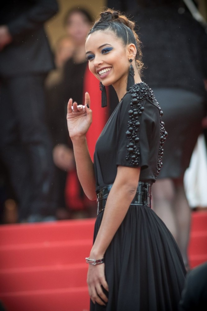 CINDY BRUNA & FLORA COQUEREL ON THE RED CARPET AT CANNES FILM FESTIVAL