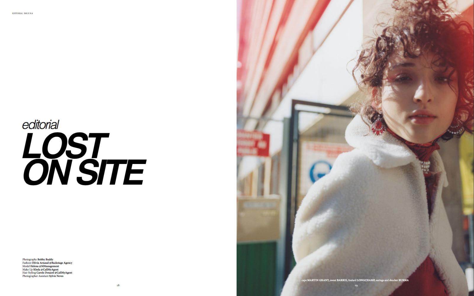 Helena Vie For Wrpd Magazine Metropolitan Models Agency Arnaude Sandals Pink