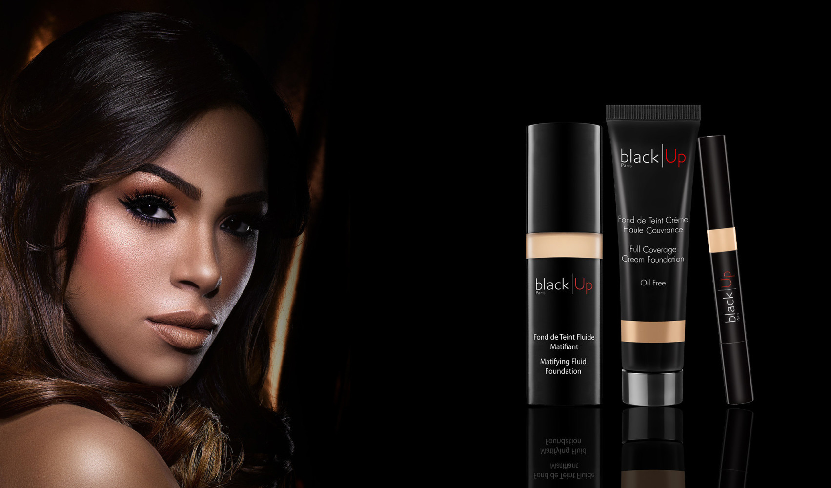 PRUDENCE FOR BLACK UP COSMETICS CAMPAIGN