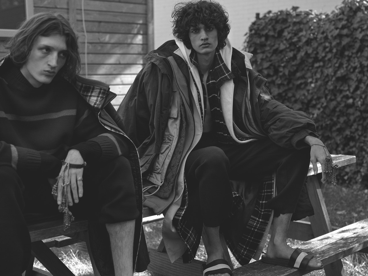 Josef P & Robin C for ESSENTIAL HOMME