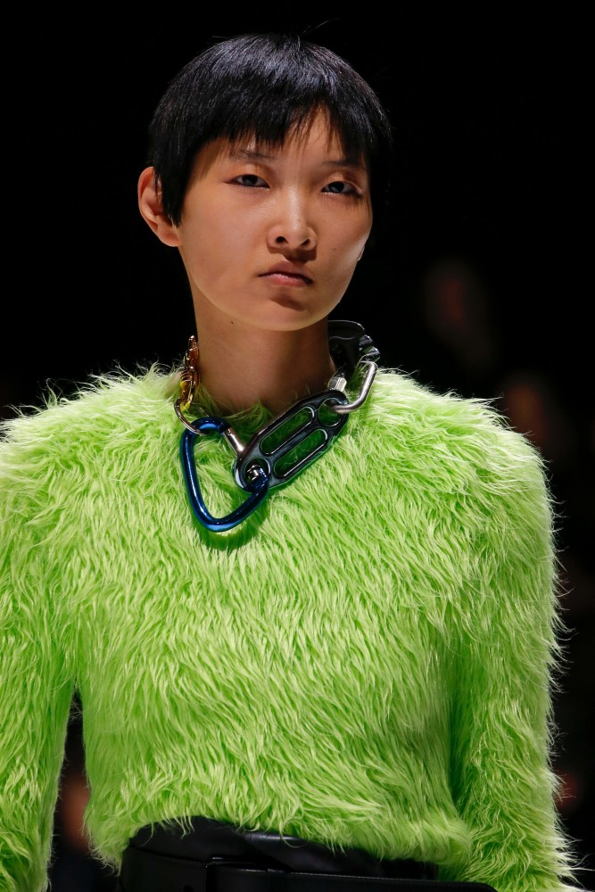STUNNING NEW FACE QIN LEI EXCLUSIVE FOR BALENCIAGA