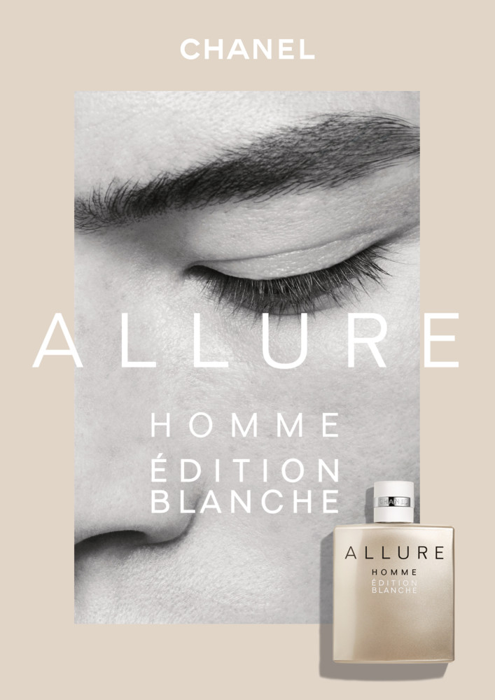 CAIO & SIMONAS FOR CHANEL ALLURE HOMME FRAGRANCE