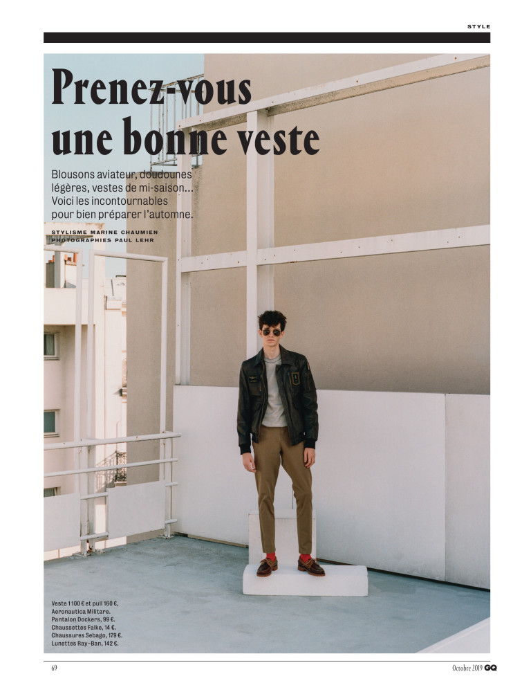 PIERRE FOR GQ FRANCE