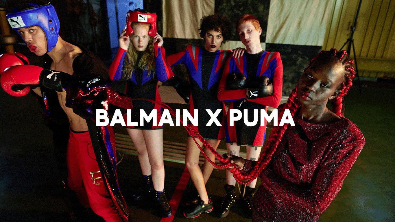 DUDLEY O'SHAUGHNESSY FOR BALMAIN X PUMA CAMPAIGN