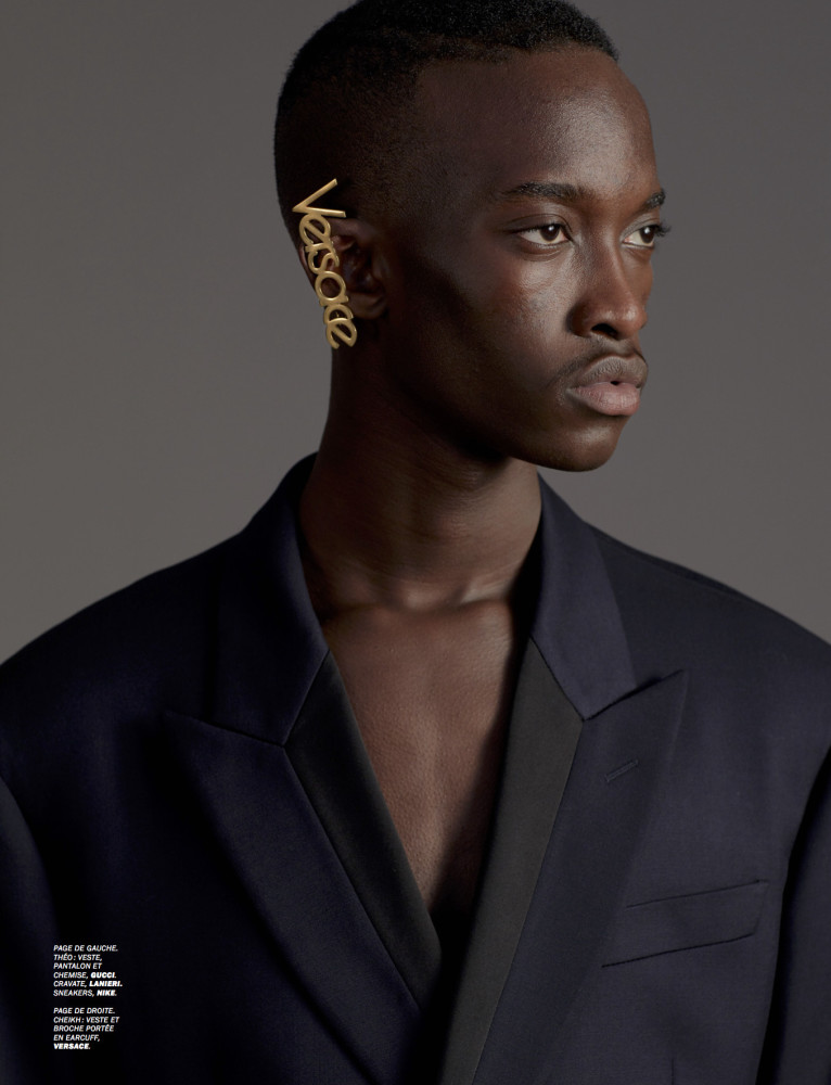 CHEIKH & RODRIGUE FOR LUI MAGAZINE