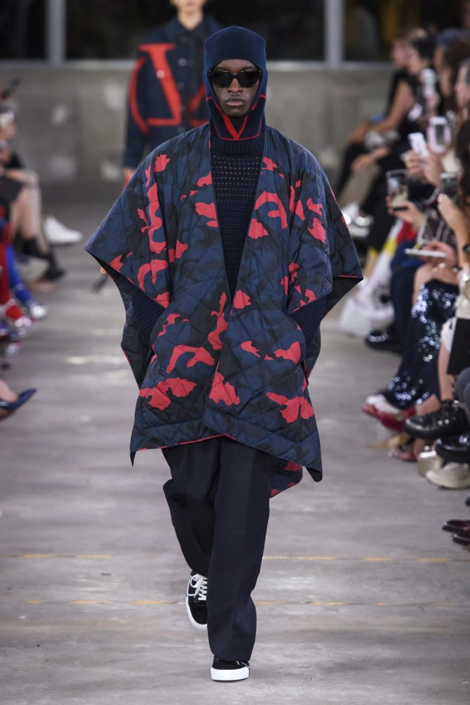 CHEIKH FOR VALENTINO PRE-FALL SHOW IN TOKYO