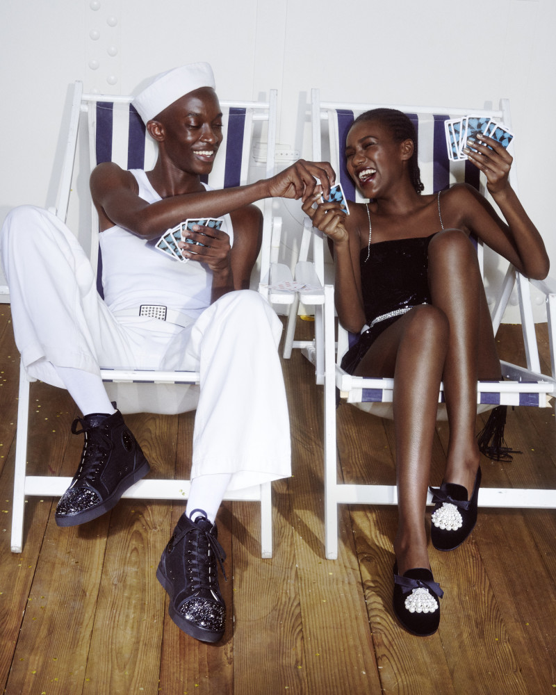 CHEIKH FOR CHRISTIAN LOUBOUTIN - 'BLACK TIE  CAMPAIGN'