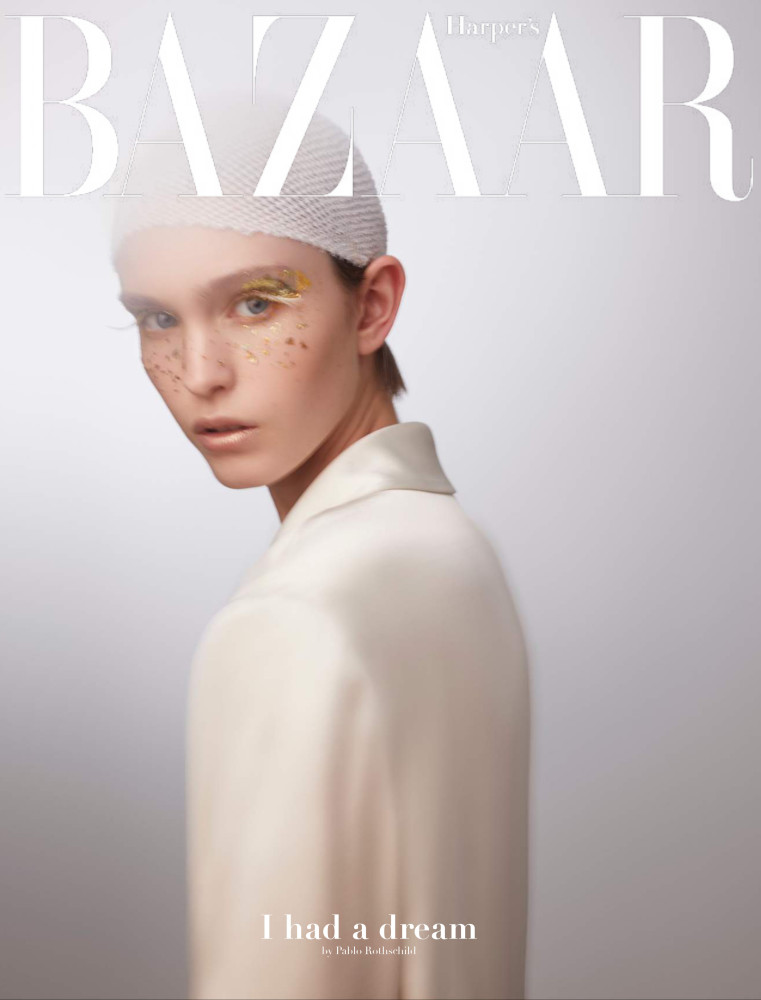 JADE ELIASEK FOR HARPER'S BAZAAR CZECH REPUBLIC