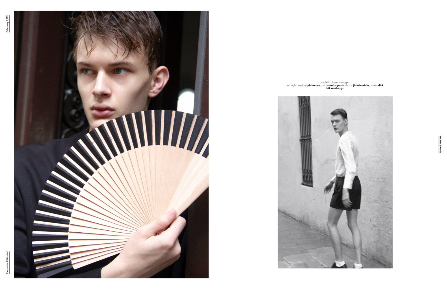 ROMAN FOR THE ONE TO WATCH BY MODELS.COM