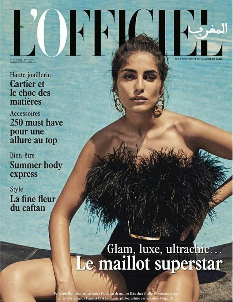 FARNOUSH COVERS L'OFFICIEL MAROC