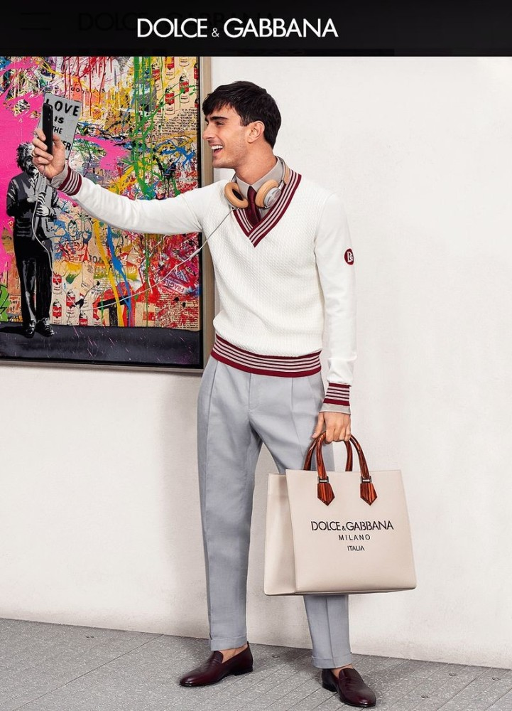 ANDREA FOR Dolce & Gabbana Summer Vanitas SS 20