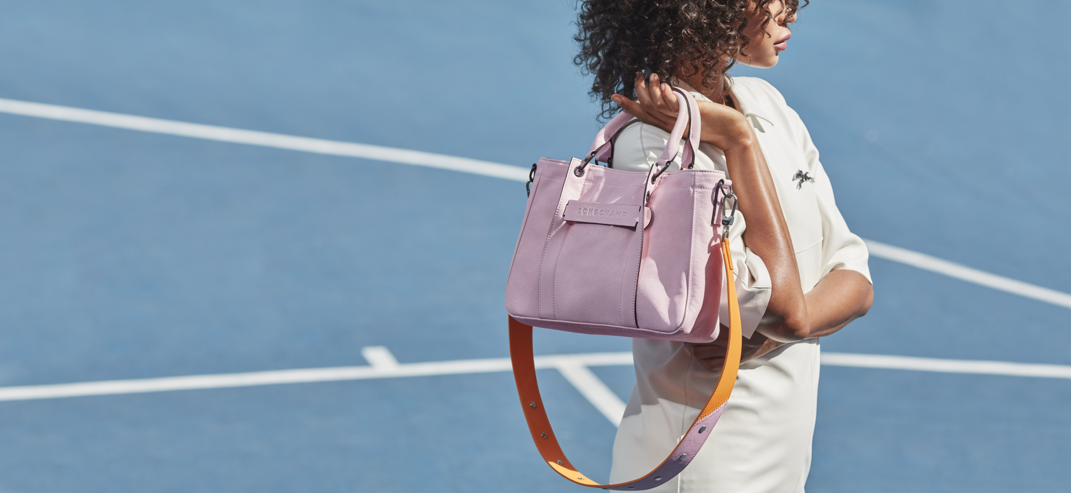 ZAINA GOHOU FOR LONGCHAMP PARIS CAMPAIGN