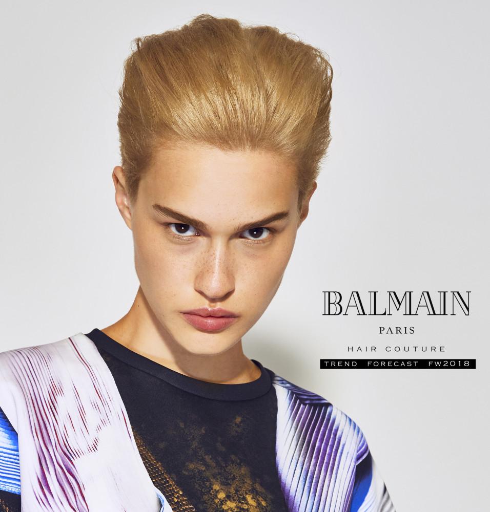 ELLA FOR BALMAIN HAIR COUTURE FW18 Lookbook