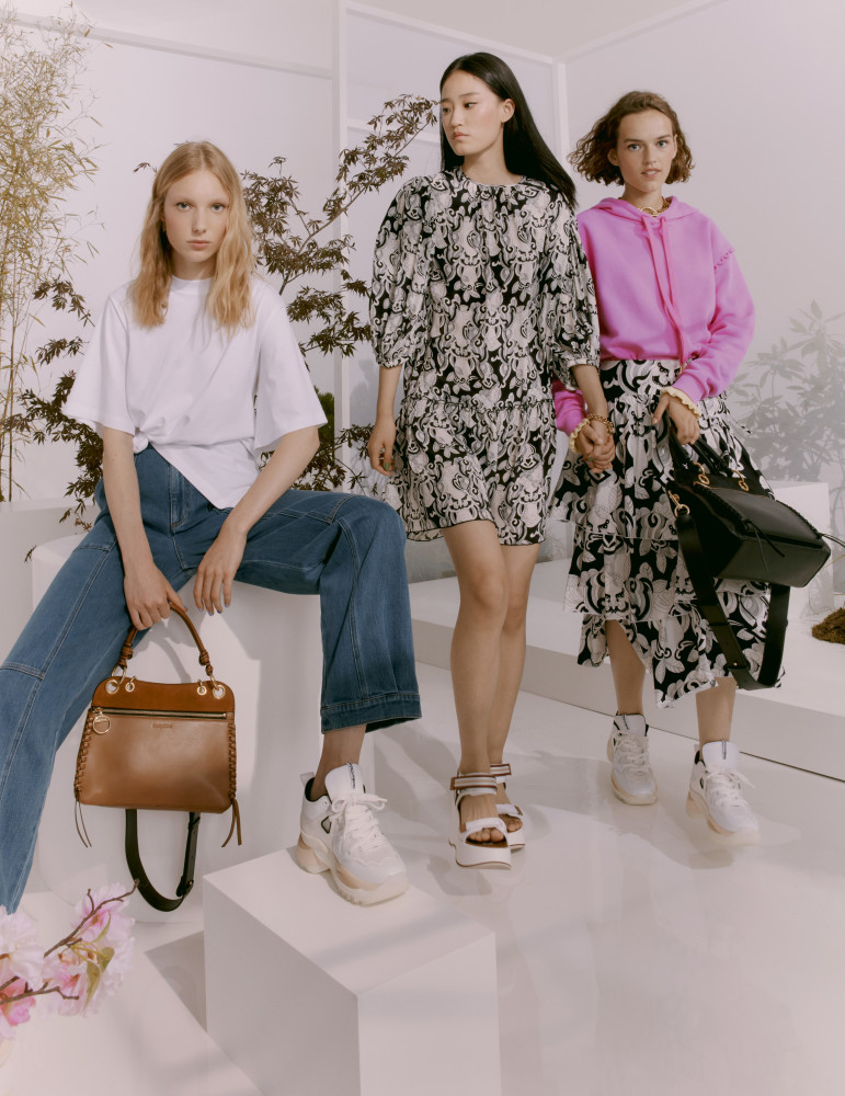 YIROU FOR SEE BY CHLOE BAGS CAMPAIGN