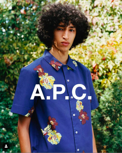 BILEL FOR A.P.C SS21 CAMPAIGN