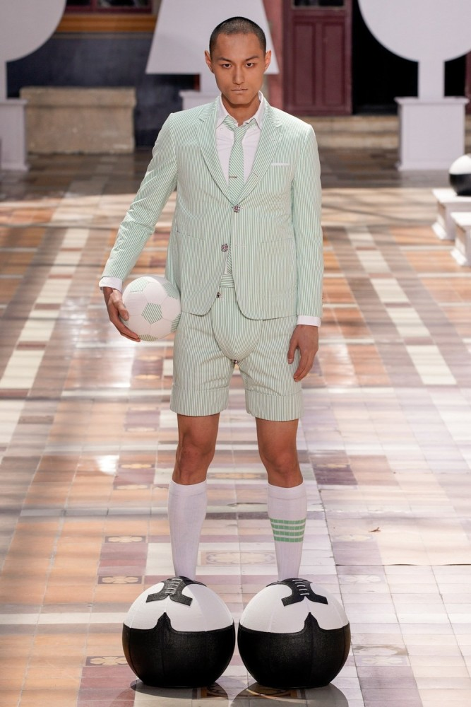 WEI QI FOR THOM BROWNE