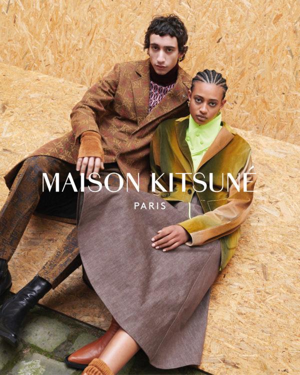 SAEED FOR MAISON KITSUNE FW20 CAMPAIGN