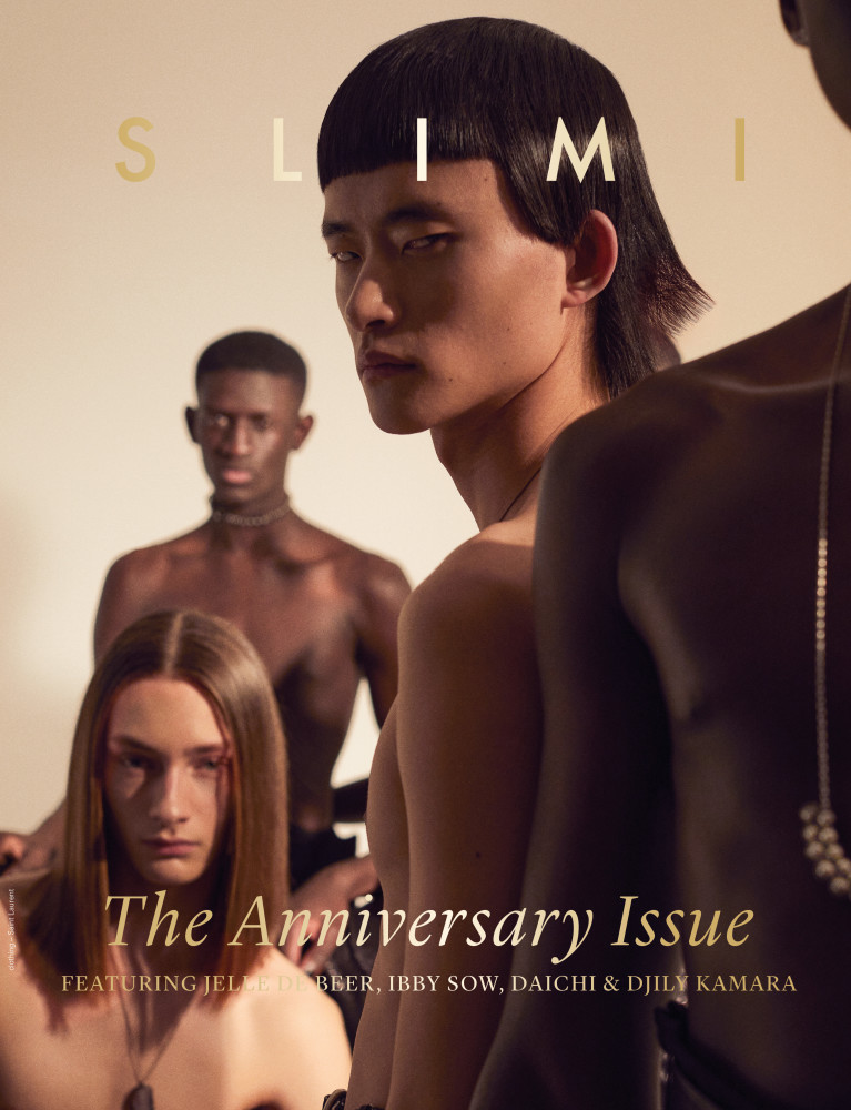 Daichi Yamada on the cover of SLIMI Magazine