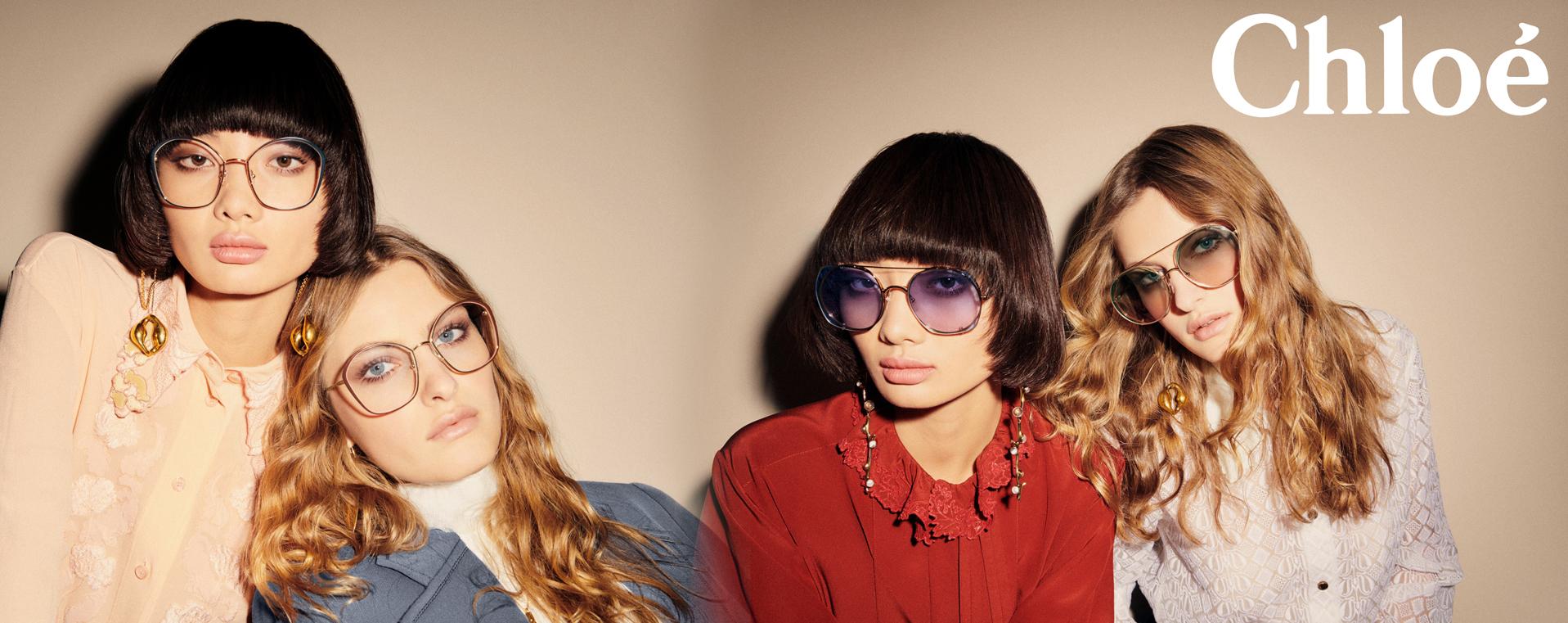 Mao for Chloe Eyewear Campaign